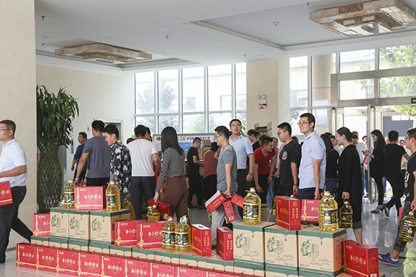 Happy Mid-Autumn Festival China Coal Group Distribute Welfare To All Employees