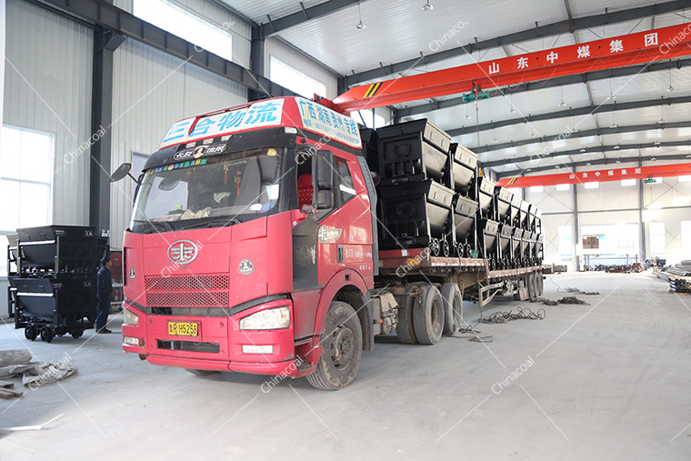 China Coal Group Sent A Batch Of Bucket-Tipping Mine Car To Gansu Province
