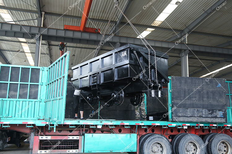 China Coal Group Sent A batch Side Dump cars to Longyan, Fujian