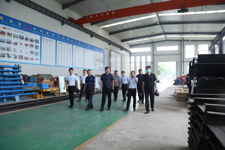 Warm Welcome Jining City Technical Education Group Leaders Visit China Coal Group Inspection Cooperation