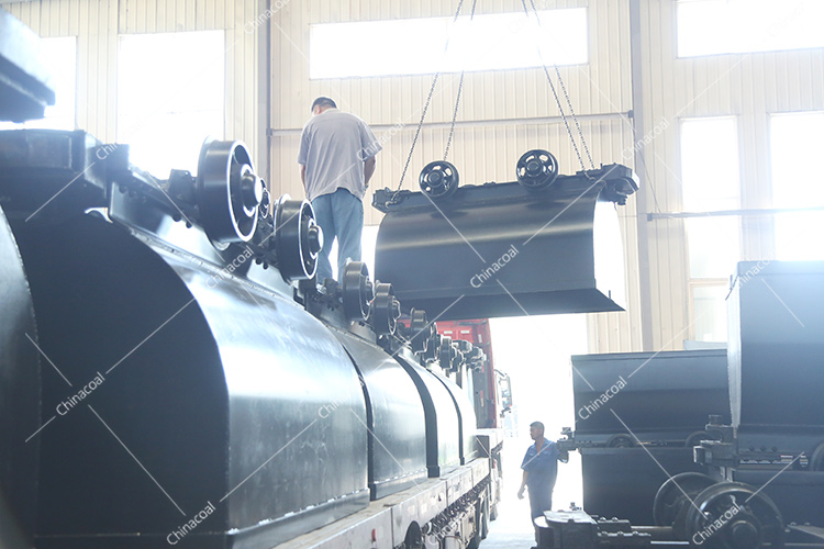 China Coal Group Sent A Batch Of Fixed Mine Cart To Shanghai Port